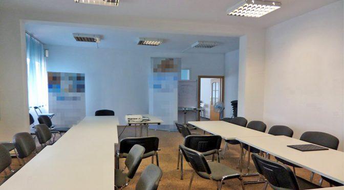 przestronne wnętrze biura do wynajęcia we Wrocławiu