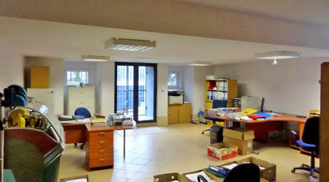 nowoczesne wnętrze biura do wynajęcia we Wrocławiu