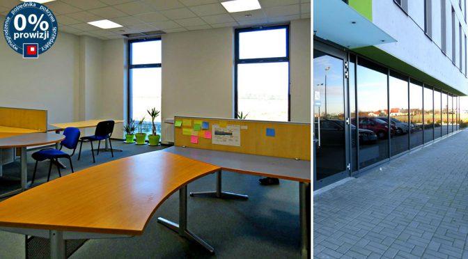 wnętrze biura do wynajęcia we Wrocławiu (Krępice)