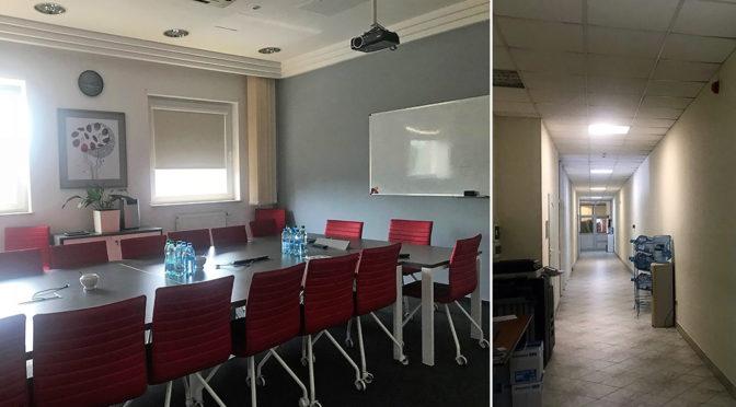 sala konferencyjna i pokój w biurze na wynajem we Wrocławiu