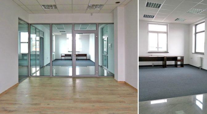 komfortowe wnętrze biura do wynajmu we Wrocławiu