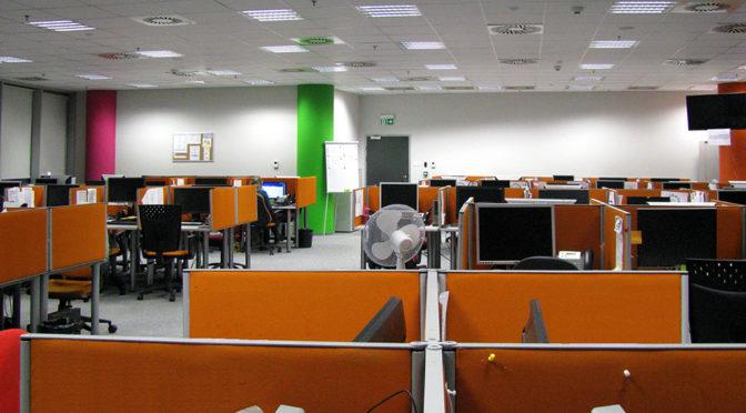 wnętrze ekskluzywnego biura do wynajęcia Wrocław Fabryczna