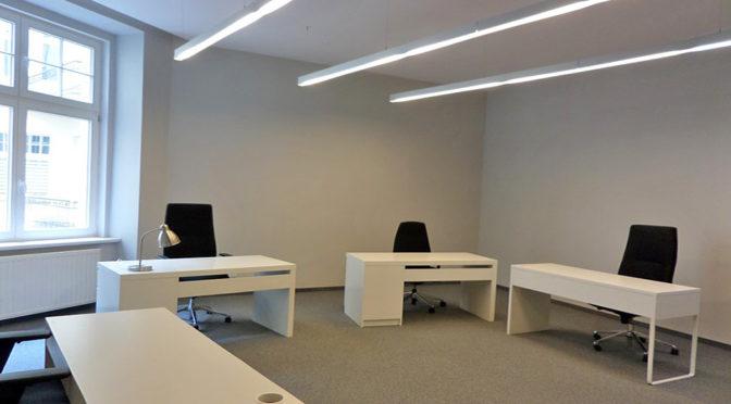 na zdjęciu wnętrze luksusowego biura do wynajmu Wrocław Stare Miasto