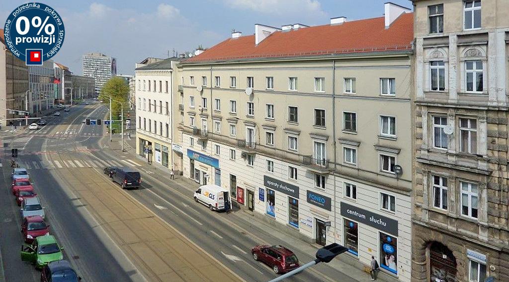 widok na panoramę miasta biura do wynajęcia Wrocław Fabryczna