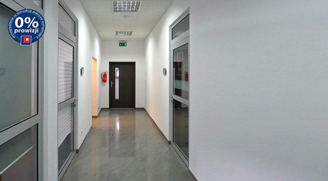 komfortowy hol prowadzący do biura na wynajem Wrocław