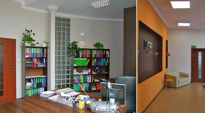 komfortowe wnętrze biura na wynajem Wrocław Stare Miasto
