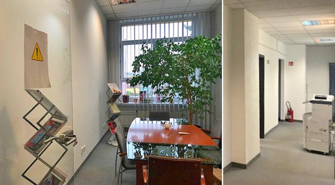komfortowe wnętrze biura do wynajęcia Wrocław Krzyki