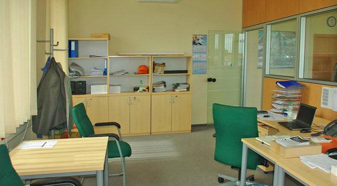 funkcjonalne wnętrze biura do wynajęcia Wrocław Siechnice