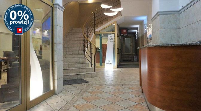 reprezentacyjne wejście bo biura na wynajem Wrocław