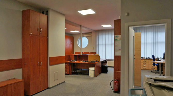 wnętrze komfortowego biura na wynajem Wrocław Ołtaszyn