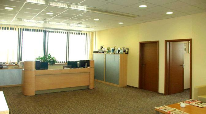 komfortowe wnętrze biura do wynajęcia Wrocław Siechnice