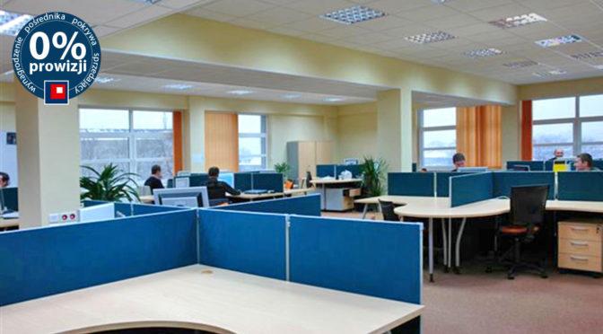 przestronne wnętrze biura do wynajmu Wrocław